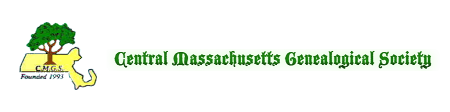 Central Massachusetts Genealogical Society